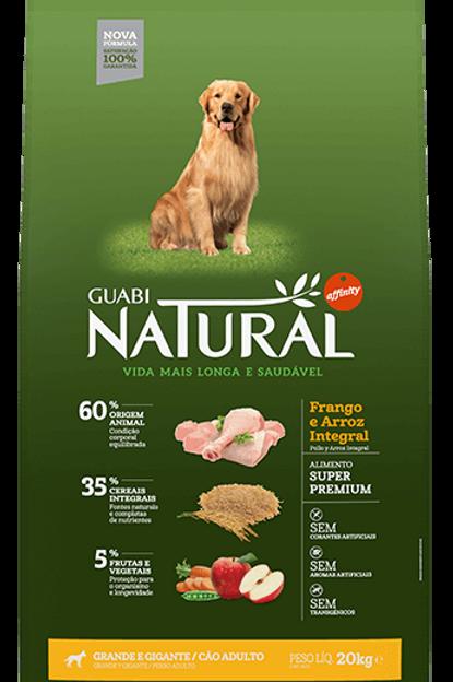 Guabi Natural Frango Raças Grandes 15kg
