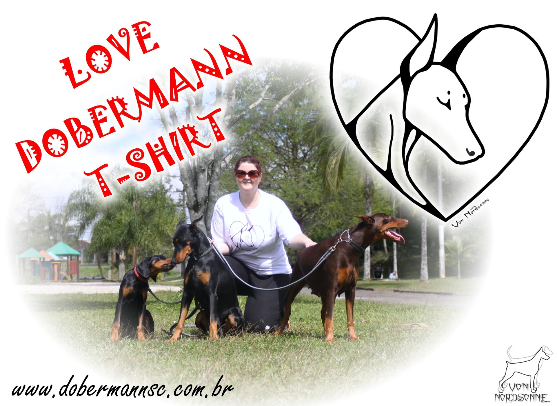 Camisetas LOVE DOBERMANN T-SHIRT 1