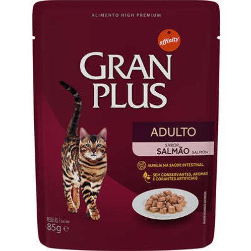 Gran Plus Salmão para Gatos - Sachê 85g