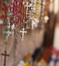 Christian Crosses in Jerusalem