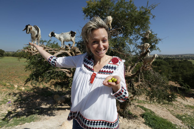 Kate Quilton - Argon Oil - Morocco - Goats on Trees - C4