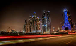 Dubai long exposure