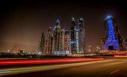Dubai long exposure