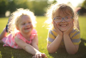 My nieces - Gabby & Isabella