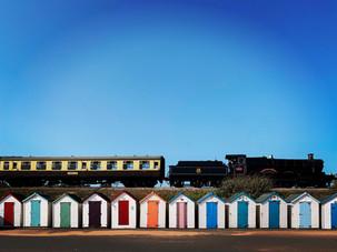 Steam Train at Goodrington Sands
