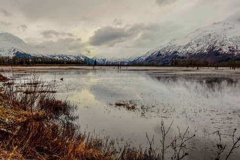 Seward - Alaska - aftermath site of the 1964 earthquake