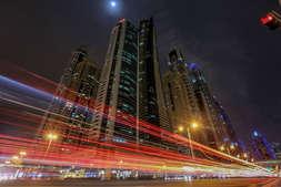Dubai Long Exposure.