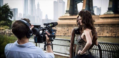 Filming in NYC for My Big Fat American Gypsy Wedding Trouble Model Shoot