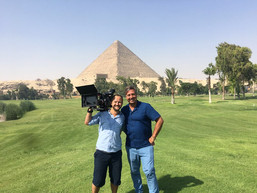 Filming in Egypt with John Torode's Middle East