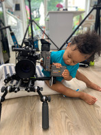 Filming Huggies Pull Ups TV advert at home with an Arri Alexa