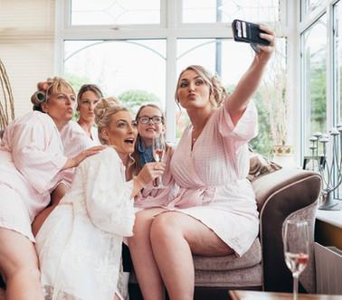 Getting ready selfies