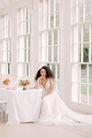 Stunning Bride at top table