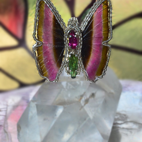 Tourmaline Butterfly