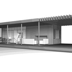 Studie I Gartenpavillon / Gästehaus, Diera