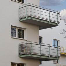 Sanierung I Denkmalgeschütztes Mehrfamilienhäuser 30er Grossenhainer Strasse, Meissen