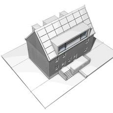 Entwurf I Dachgeschossausbau/Fassadensanierung