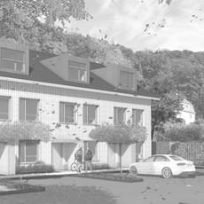 Wettbewerb I Neubau 3 Reiheneinfamilienhäuser, Meissen
