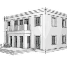 Entwurf I Villa mit historischem Erbe