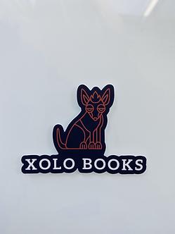 Xolo Books Sticker