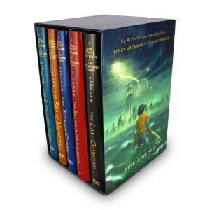 Used Bundle: Percy Jackson and the Olympians 5 Book Paperback Boxed Set