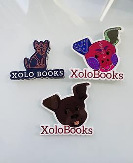 Xolo Books Sticker Bundle