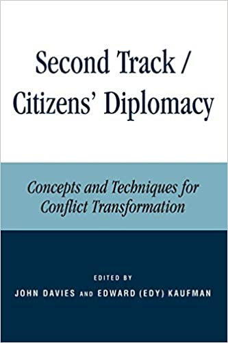 Second Track Citizens' Diplomacy: Concepts and Techniques for Conflict...