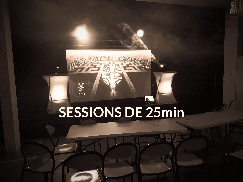 Sessions de 25min
