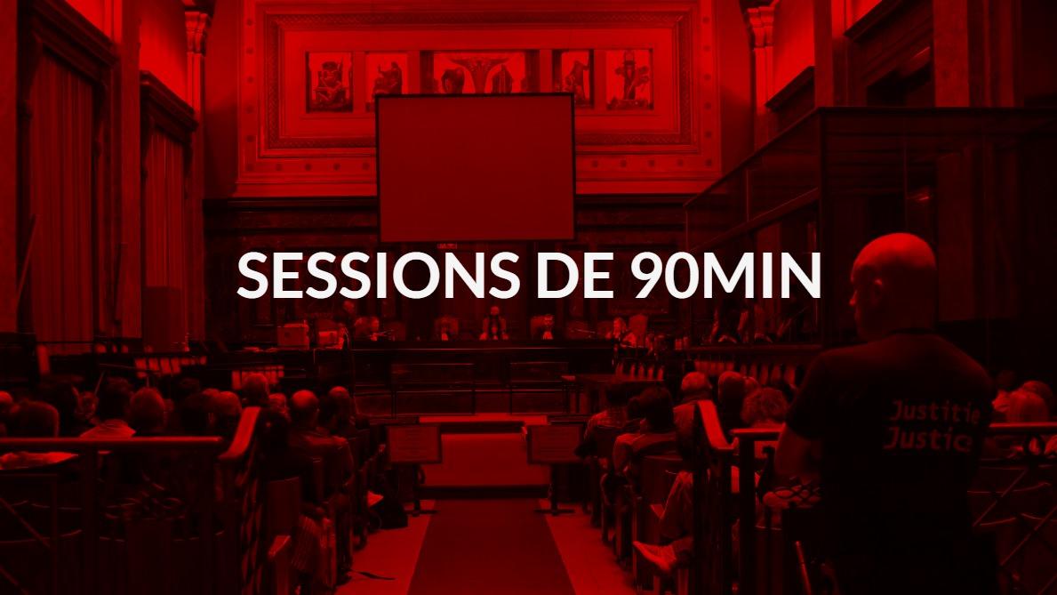 Sessions de 90min