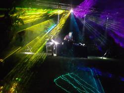 Show de lumières & machines à effets