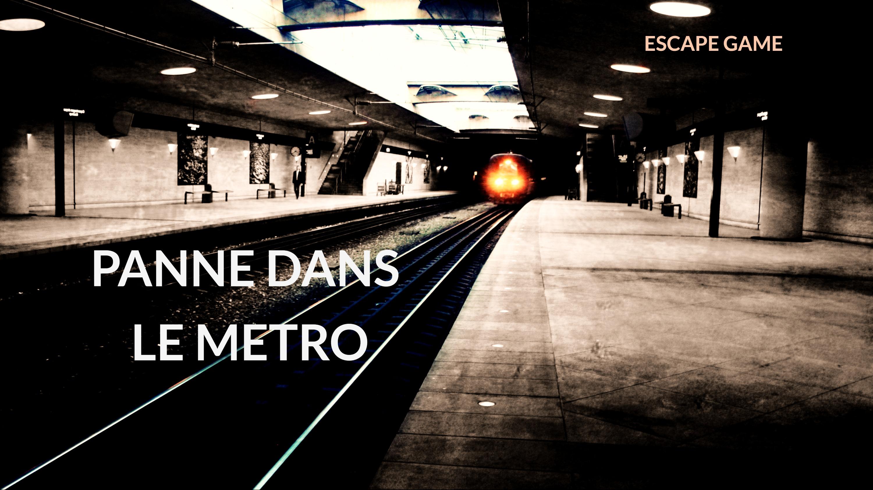 Panne dans le métro