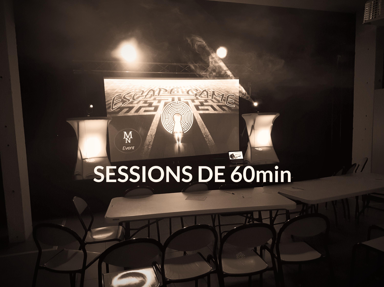 Sessions de 60min