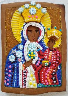 Black Madonna of Poland (Gingerbread)