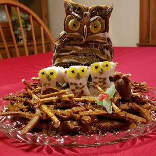 Great Horned Owl's Nest (Gingerbread 2019)