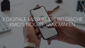 3 DIGITALE MISSERS DIE BELGISCHE KMO'S NOG TE VAAK MAKEN ...