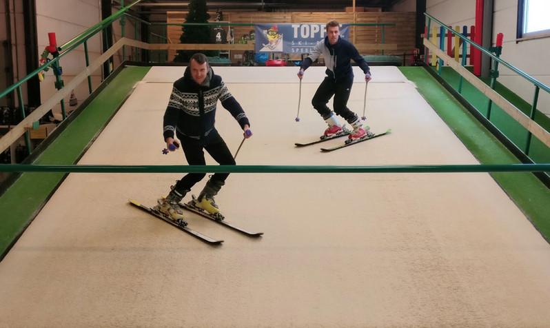 De ski en snowboard experten