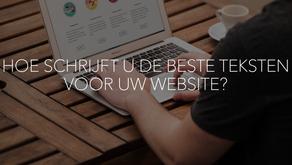 Hoe schrijft u de beste teksten voor uw website?