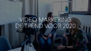 DE TREND VOOR 2020 VIDEO MARKETING
