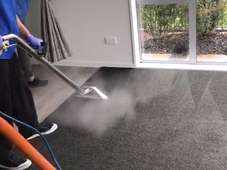 deep carpet steam cleaning Christchurch