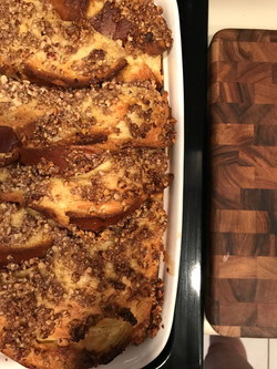 Pecan Crumble French Toast