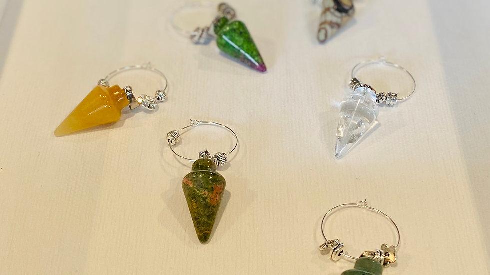 Gemstone - Earth Glassware Charms
