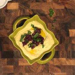 Caper and Olive Hummus
