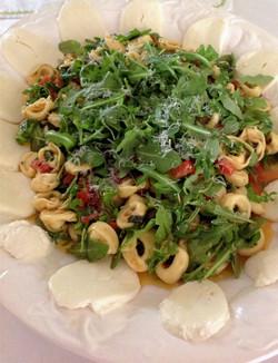 Tortellini Salad with Fresh Tomato Vinaigrette