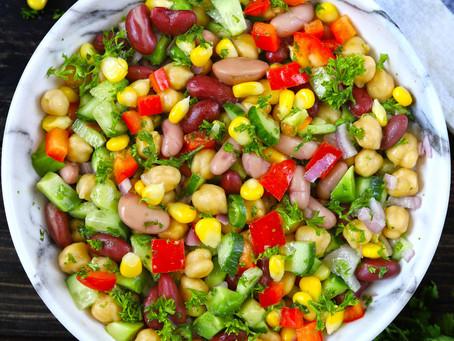 MIXED BEANS SALAD| #Recipe 10 | Healthy Food lifestyle | #Teamspba
