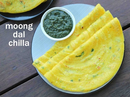 MOONG DAL CHILA | #Recipe 1 | Healthy Food lifestyle | #teamspba