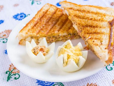 SCRAMBLE EGG & MAYO SANDWHICH | #Recipe 5 | Healthy Food lifestyle | #teamspba