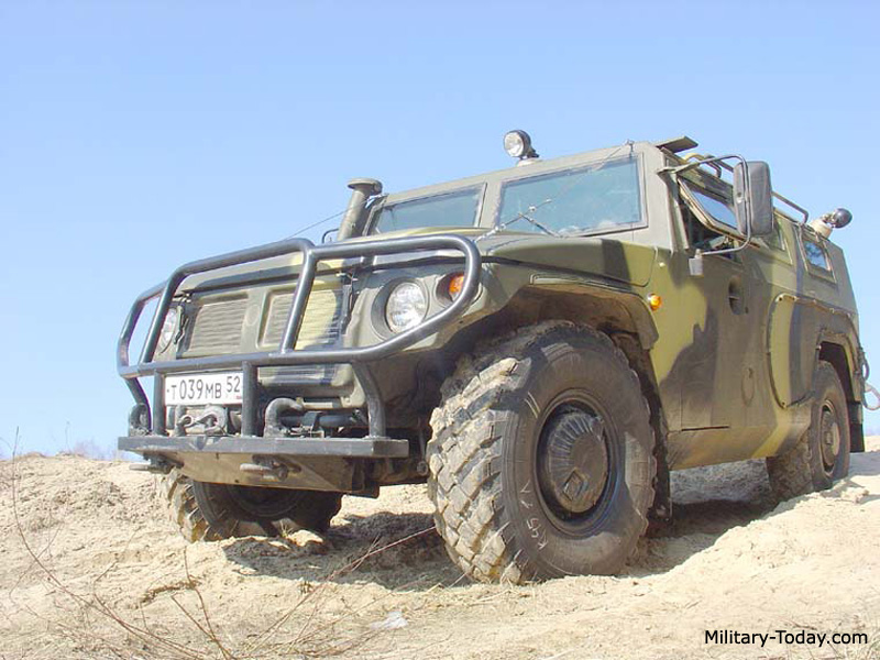 DTA GAZ-2330 Tigr