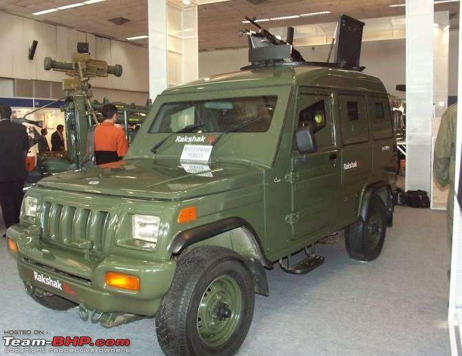 Armored Mahindra Scorpio DTA