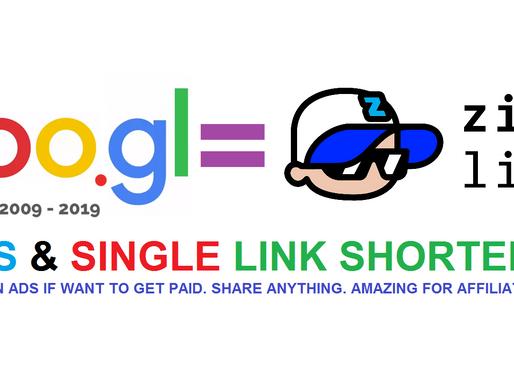As Google is shuttering GOO.GL - switch to ZigiLink