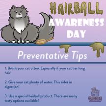 Hairball Awareness Day