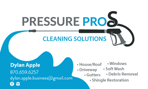 Pressure Pros Business Card